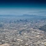 Přistání nad LA